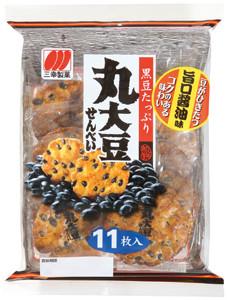 11枚丸大豆せんべい旨口醤油味